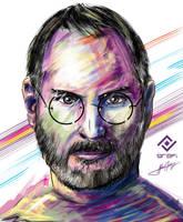 Steve Jobs by potrilloadr