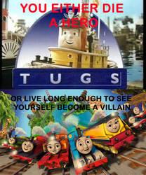 Tugs VS. Thomas and Friends by TheLOKRailfanDA