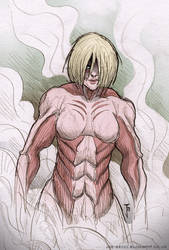Female Titan by Fuelreaver