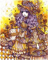 bees in bonnet by koyamori