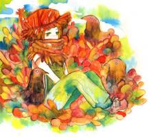 scarecrow by koyamori