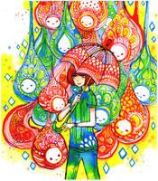 droplets by koyamori