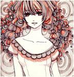 wreath girl by koyamori