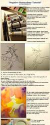 negative painting tutorial by koyamori