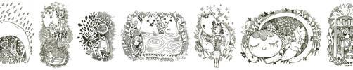 critter doodle by koyamori