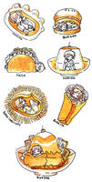 foodies by koyamori