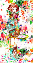 psychedelic hoolahoop by koyamori