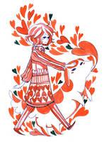 hearts by koyamori