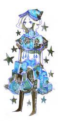 book dress by koyamori