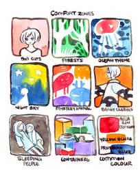 comfort zones meme by koyamori