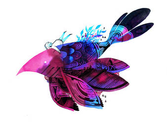 Toy Bird by koyamori