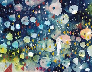 Apparition by koyamori