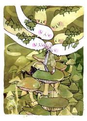 Huddle by koyamori