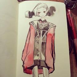 Red coat by koyamori