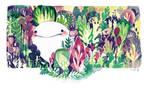 garden lizard by koyamori