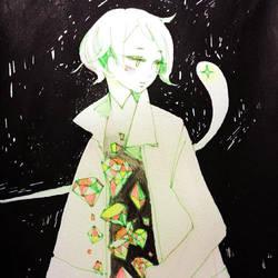 a visitor by koyamori