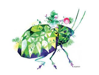 Emerald Bug by koyamori
