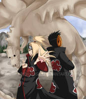 Naruto: Enter the C2 Dragon by Mikutashi