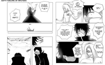 Farewell Deidara: Pages 3+4 by Mikutashi