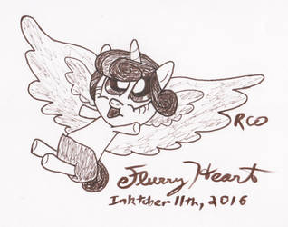 Inktober Flurry Heart by kingtigermusic