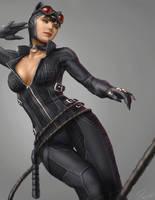 Catwoman by porksiomai