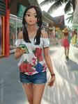Island Girl by porksiomai