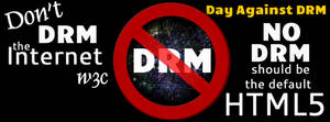 Day Against DRM Cover for Facebook by laurelrusswurm