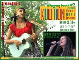 My Kultrun Poster (2018) by laurelrusswurm