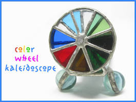 Color Wheel Kaleidoscope by laurelrusswurm