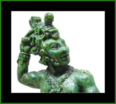 Mayan God by laurelrusswurm