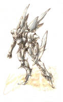 Robot by kaminarisora