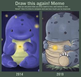 Draw This Again 2019 - 1 by JackaloppStudios