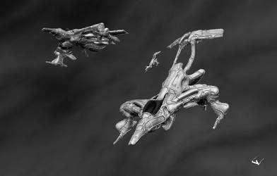 Void Interceptor Sortie by lhumungus