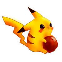 pikachu by Watermelon93