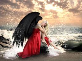 Angel on earth by DreamDancer84