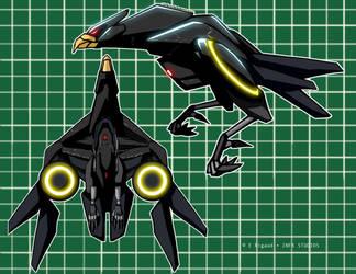 DESTINY-eagle droid-DRONE by edwardrigaud