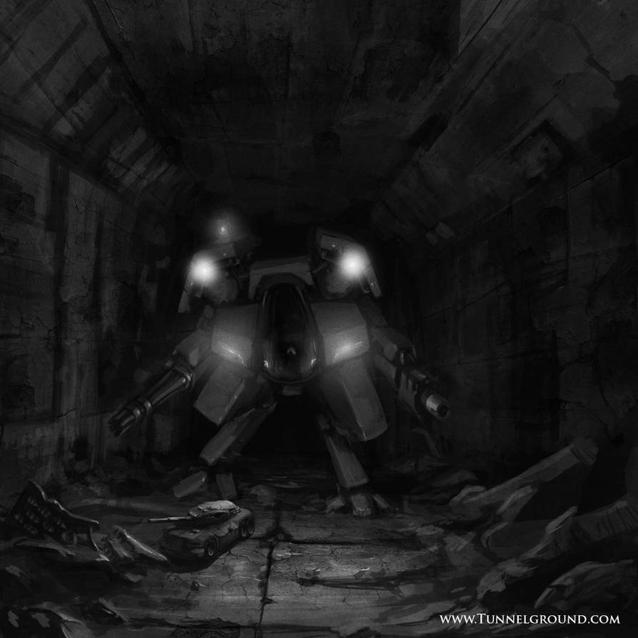 Tunnel Ground character concept by TunnelGround