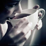 a cup of tea by prismes