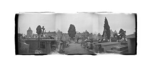 Carcassonne Cemetery I by Veniamin