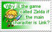 Zelda stamp by Take-an-Umbrella