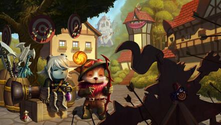 League of Legends Digi Art contest by Shockowaffel