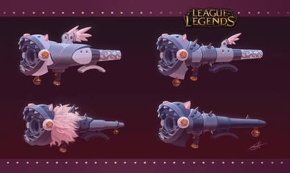 League of Legends: Fishbone concept art by Shockowaffel