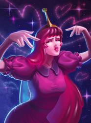 Princess Bubblegum by Shockowaffel