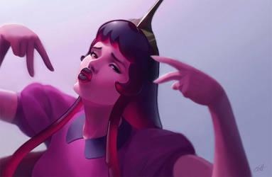 Princess Bubblegum Swag by Shockowaffel