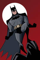 Batman DCAU Style by LucianoVecchio