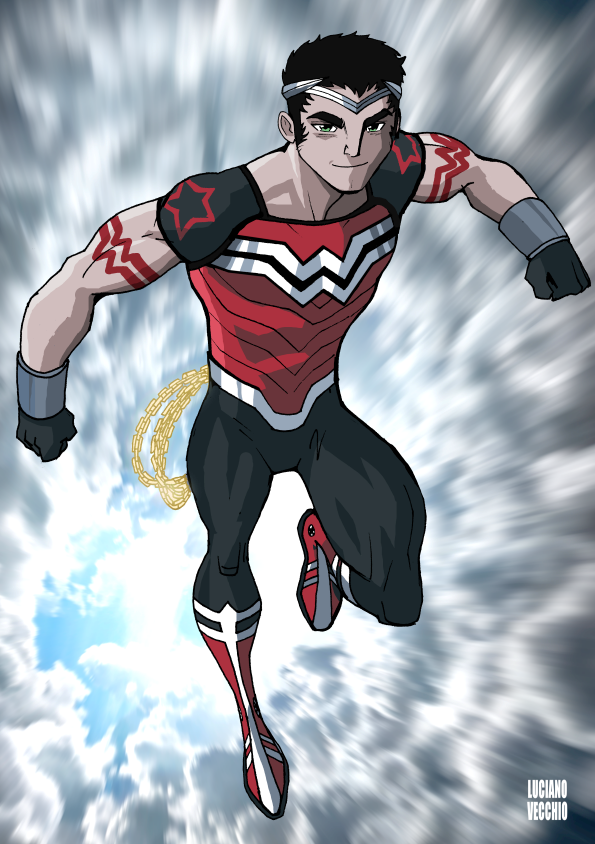 Who Is Wonder Boy By LucianoVecchio