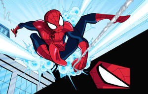 Marvel Infinite Comics: Ultimate Spider-Man 6 by LucianoVecchio
