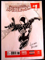 SPIDER-MAN Convention sketch by LucianoVecchio