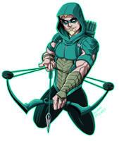 Green Arrow Rebirth by LucianoVecchio