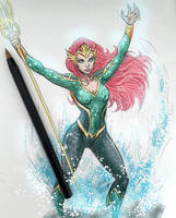 Mera sketch by LucianoVecchio